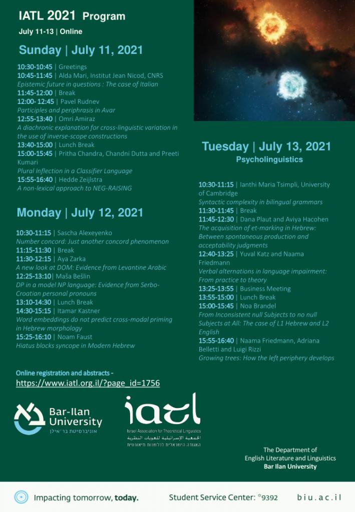 IATL 36 program